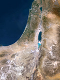 Israel, Satellite Image Photographic Print by  PLANETOBSERVER