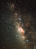 The Milky Way Photographic Print by John Sanford