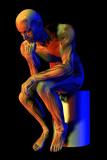 Male Musculature Photographic Print by Friedrich Saurer