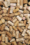 Wine Bottle Corks Photographic Print by Alan Sirulnikoff