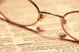 Reading Glasses Photographic Print by Alan Sirulnikoff