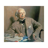 Portrait of the Rt. Hon. David Lloyd George Gicléetryck av Sir William Orpen