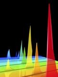 Chromatogram, 3D View Fotografisk tryk af PASIEKA