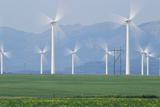 Wind Turbines Photographic Print by Alan Sirulnikoff