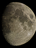 Waxing Gibbous Moon Photographic Print by Eckhard Slawik