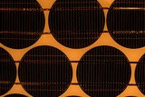 Solar Cells on Solar Panel Photographic Print by Damien Lovegrove