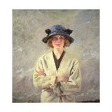 Girl in a White Dress Gicleetryck av Sir William Orpen
