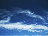 Cirrus Clouds Photographic Print by Alan Sirulnikoff