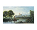 Windsor Castle Giclee Print by Philip Reinagle