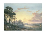 Conway Castle Giclee Print by Paul Sandby
