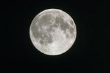 Full Moon Through Amateur Telescope Photographic Print by John Sanford
