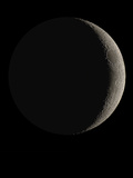 Waxing Crescent Moon Prints by Eckhard Slawik