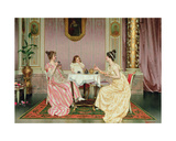 The Tea Party Giclee Print by Vittorio Reggianini