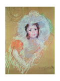 Head of a Young Girl Giclee Print by Mary Stevenson Cassatt