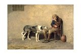 Fidelity, 1869 Giclee Print by Briton Riviere