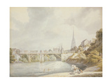 Bridge at Monmouth Giclee Print by Michael Rooker