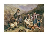 Sheep Shearing Giclee Print by John Frederick Tayler