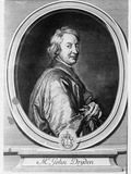 John Dryden (1631-1700) Engraved by Gerard Edelinck (1640-1707) Photographic Print by Godfrey Kneller
