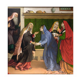 The Visitation, C.1530-35 (Detail) Giclee Print by Lorenzo Lotto