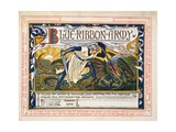 'Blue Ribbon Army, Pledge for Temperance' Giclee Print by Walter Crane