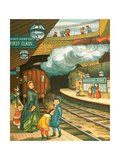 Underground Railway from 'London Town' Giclee Print by  Thomas Crane and Ellen Houghton