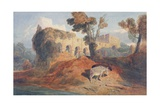 Buildwas Abbey Giclee Print by John Sell Cotman