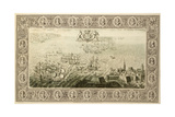 Armada (Engraving from a Tapestry), 1739 Giclee Print by John Pine