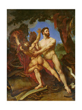 Hercules and Diomedes Giclee Print by Baron Antoine Jean Gros