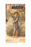 """My Beloved Has Gone Down to His Garden"", from the Song of Songs Giclee Print by John Melhuish Strudwick"
