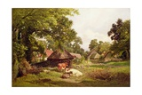 A Cottage Home in Surrey Giclee Print by Edward Henry Holder