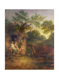 The Woodcutter's House Giclee Print by Thomas Gainsborough
