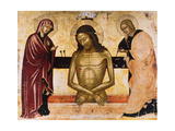 Christ Crucified with Mary and Joseph Giclee Print by Nicola Zafuri