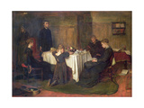 'The Lord Gave and the Lord Taketh Away - Blessed Be the Name of the Lord', 1868 Giclee Print by Frank Holl