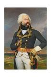 General Adam Philippe (1740-93) Count of Custine Giclee Print by Joseph Desire Court