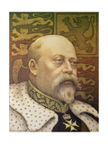 King Edward Vii Giclee Print by Paul Berthon