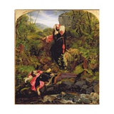 The Bluidie Tryst, 1855 Giclee Print by Sir Joseph Noel Paton