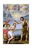 The Baptism of Christ Giclee Print by Ottavio Vannini