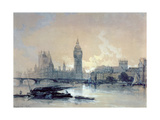 The Houses of Parliament Giclee Print by David Roberts