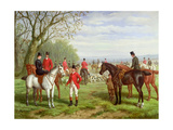 The Meet Giclee Print by Edward Benjamin Herberte