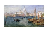 St. Maria Della Salute, Venice Giclee Print by Edward Angelo Goodall