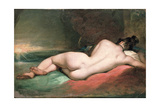 Nude Model Reclining, 19th Century Giclee Print by William Etty