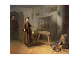 A Painter in His Studio Giclee Print by Gerrit or Gerard Dou