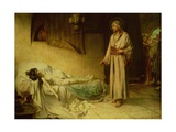 The Raising of Jairus's Daughter, 1885 Giclee Print by George Percy Jacomb-Hood
