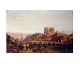 Saumur, by the Loire Valley Giclee Print by George Clarkson Stanfield