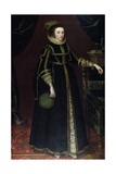 Portrait of a Lady Giclee Print by Marcus, The Younger Gheeraerts
