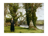 George Herbert at Bemerton, 1860 Giclee Print by William Dyce
