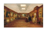 Interior of Turner's Gallery, 19th Century Giclee Print by George Jones