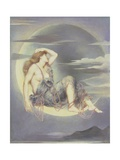 Luna, 1885 Giclee Print by Evelyn De Morgan