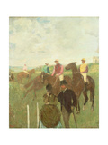 Before the Races Giclee Print by Edgar Degas
