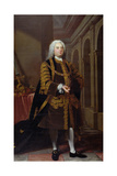Portrait of Sir John Barnard (1685-1764) Lord Mayor in 1737, 1738 Giclee Print by Joseph Highmore